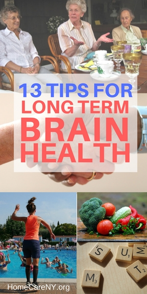 Tips for long term brain health and how to reduce risk of age related memory loss