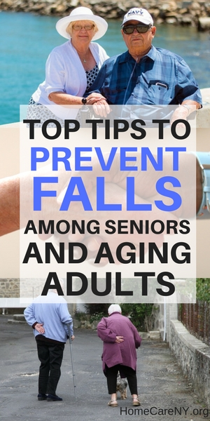 Top tips to prevent falls among seniors and aging adults
